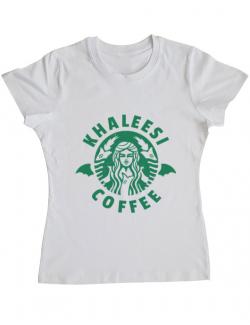 Tricou ADLER dama Khaleesi coffee Alb