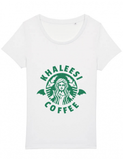 Tricou STANLEY STELLA dama Khaleesi coffee Alb