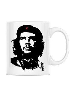 Cana personalizata Che Guevara Alb