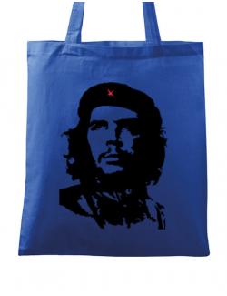 Sacosa din panza Che Guevara Albastru regal