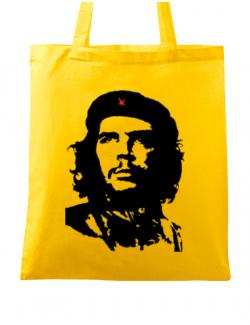 Sacosa din panza Che Guevara Galben