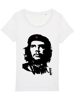 Tricou STANLEY STELLA dama Che Guevara Alb