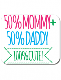 Mousepad personalizat 100 Cute Alb