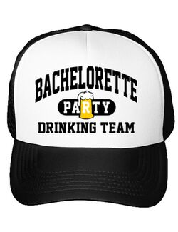 Sapca personalizata Petrecerea burlacitelor Bachelorette party Alb