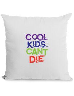 Perna personalizata Cool kids Alb