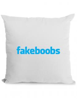 Perna personalizata Fakeboobs Alb