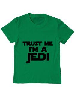 Tricou ADLER copil I am a jedi Verde mediu
