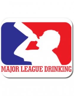 Mousepad personalizat Major league Alb