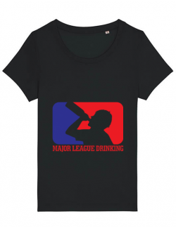 Tricou STANLEY STELLA dama Major league Negru