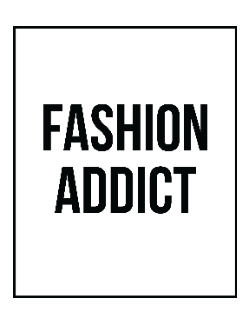Tricou Fashion addict