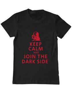 Tricou ADLER barbat Join the darkside Negru