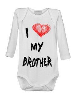 Baby body I love my brother Alb
