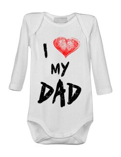 Baby body I love my dad Alb
