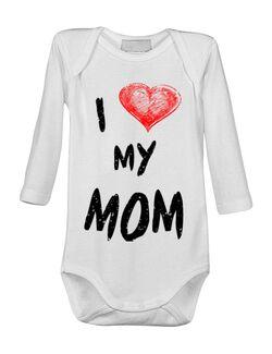 Baby body I love my mom Alb