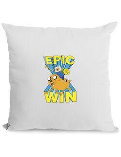 Perna personalizata Epic win Alb