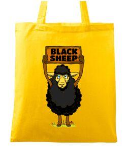 Sacosa din panza Black sheep Galben