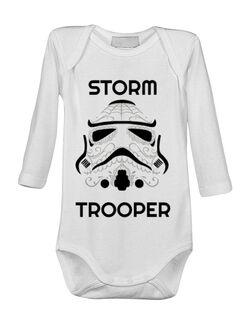 Baby body Storm trooper Alb