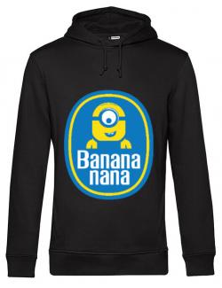 Hoodie barbat cu gluga Bananana Negru