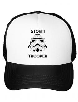 Sapca personalizata Storm trooper Alb