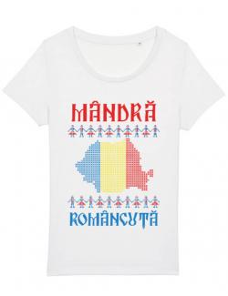 Tricou STANLEY STELLA dama Mandra romancuta Alb