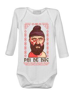Baby body Pui de dac Alb