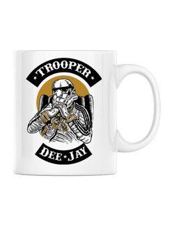 Cana personalizata Trooper Dee Jay Alb