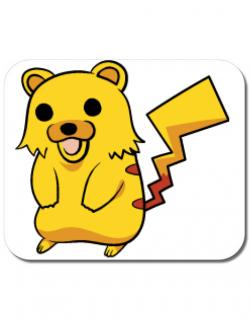Mousepad personalizat Pika Pika Alb