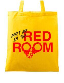 Sacosa din panza Red room Galben