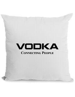Perna personalizata Vodka Alb