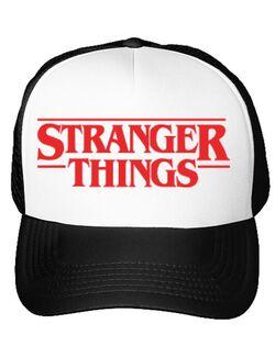 Sapca personalizata Stranger things Alb