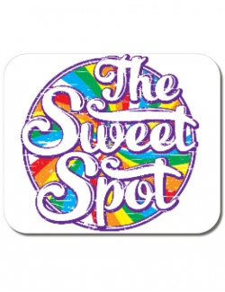 Mousepad personalizat The sweet spot Alb