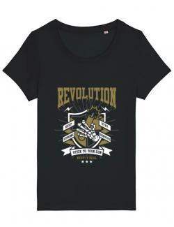 Tricou STANLEY STELLA dama Revolution Negru