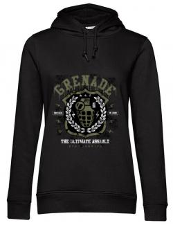 Hoodie dama cu gluga Grenade Negru