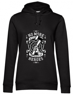 Hoodie dama cu gluga No More Heroes Negru