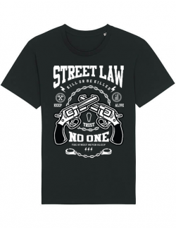 Tricou STANLEY STELLA barbat Street Law Negru