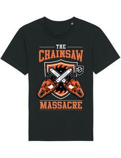 Tricou STANLEY STELLA barbat The Chainsaw Massacre Negru