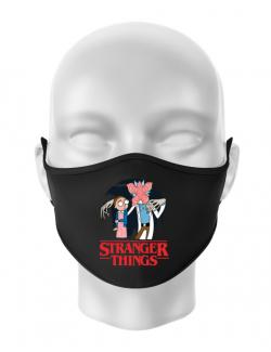 Masca personalizata reutilizabila Stranger Ricks Negru