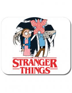 Mousepad personalizat Stranger Ricks Alb