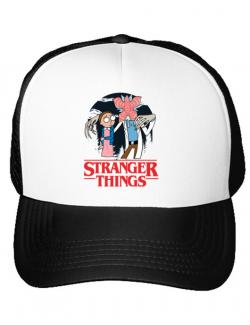 Sapca personalizata Stranger Ricks Alb