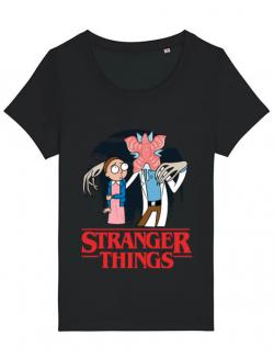 Tricou STANLEY STELLA dama Stranger Ricks Negru