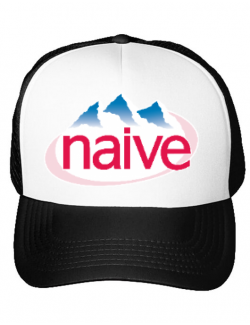 Sapca personalizata Naive Alb
