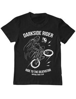 Tricou ADLER copil Darkside rider Negru