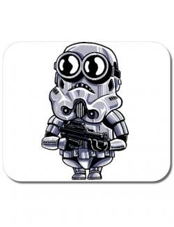 Mousepad personalizat Minion trooper Alb