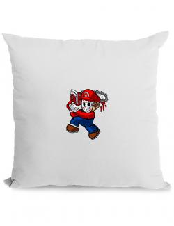 Perna personalizata Mario Massacre Alb