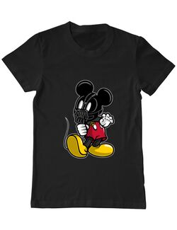 Tricou ADLER barbat Mickey Bane Negru