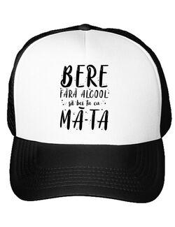 Sapca personalizata Bere fara alcool Alb