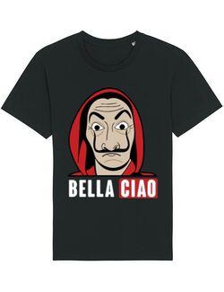 Tricou STANLEY STELLA barbat Bella ciao Negru