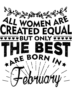 The best women are born in February