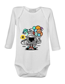 Baby body Gift From Outer Space Alb