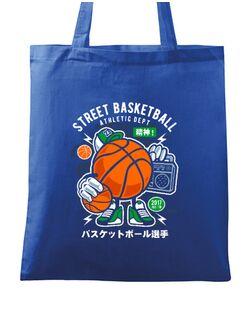 Sacosa din panza Street Basketball Albastru regal